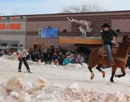 2016 Winter Festival Skijoring